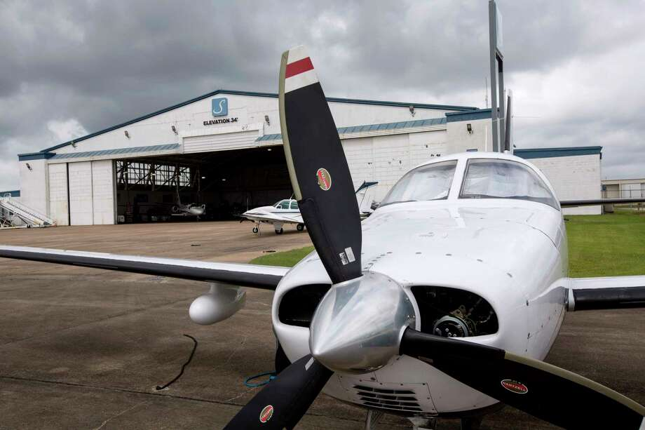 Ellington Airport will keep offering general aviation services as it looks to a space-related future. Houston Spaceport officials say their approach in repurposing Ellington reduces financial risks. Photo: Jon Shapley, Staff / © 2017 Houston Chronicle