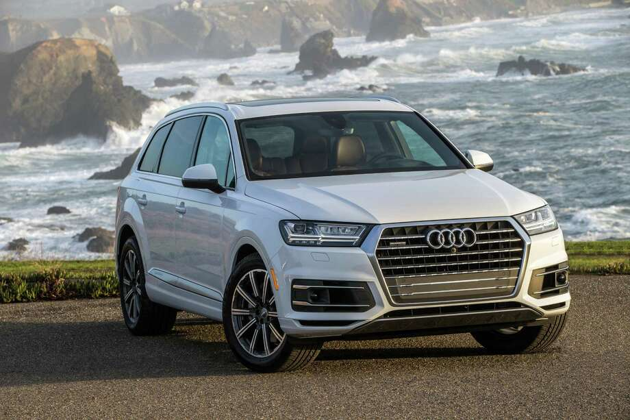 The 2017 Q7 marks the second generation of Audi's three-row SUV. Xenon headlights and LED taillights are standard but LED headlights are available. Photo: Audi