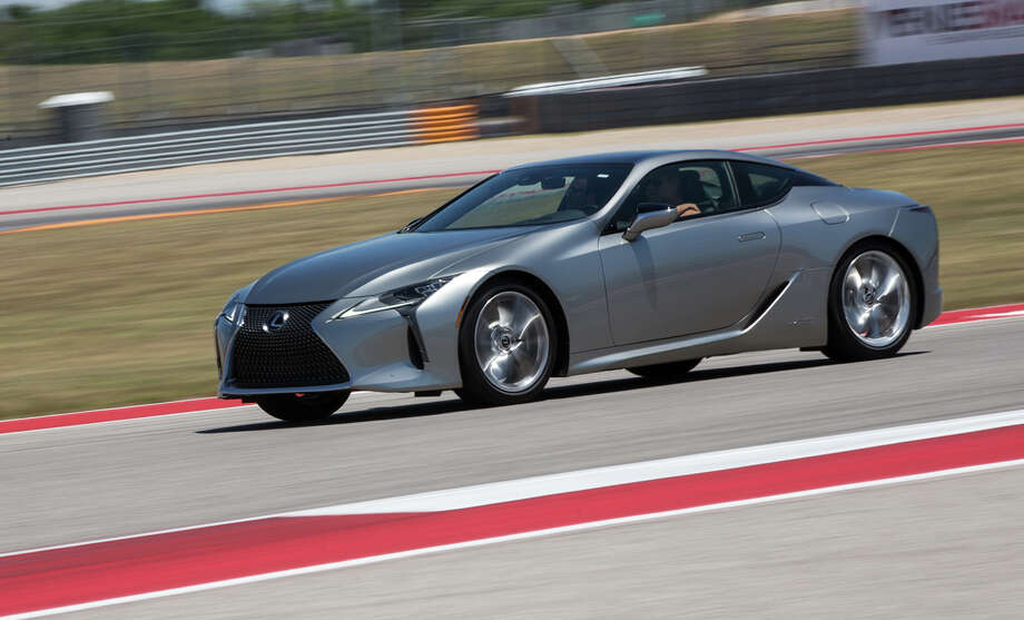 Top performance coupe for 2017 is the Lexus LC 500h. Photo: Courtesy Of Marshall Tidrick