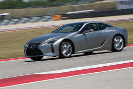 Top performance coupe for 2017 is the Lexus LC 500h.