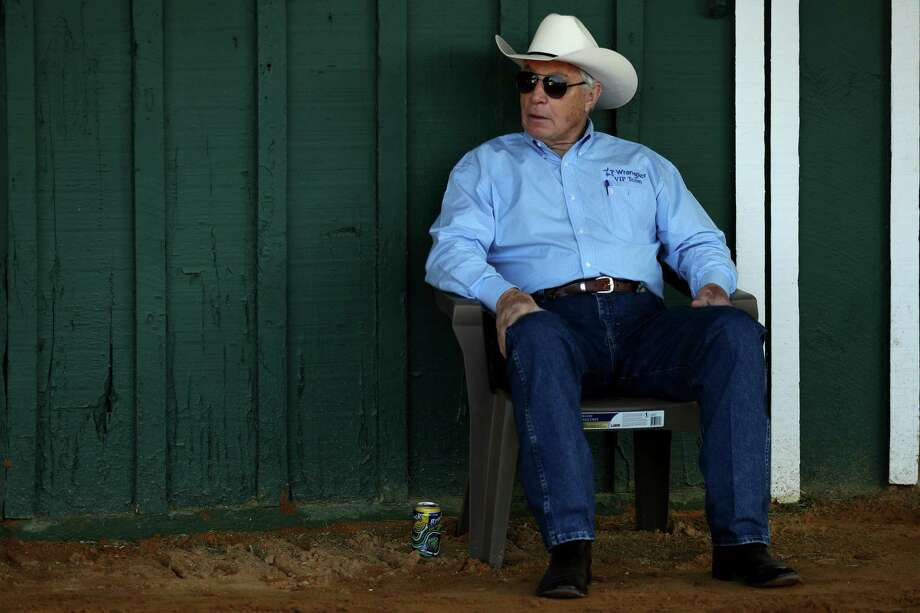 Hall of Fame trainer D. Wayne Lukas   (Photo by Patrick Smith/Getty Images)   Photo: Patrick Smith / 2017 Getty Images