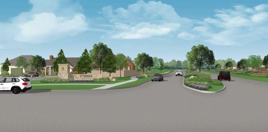Etteridge, a development of Land Tejas, is planned for 216 homes in northeast Houston.