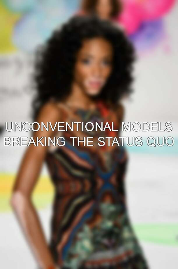 Keep clicking to see other unique, unconventional models working to change the fashion world's status quo.