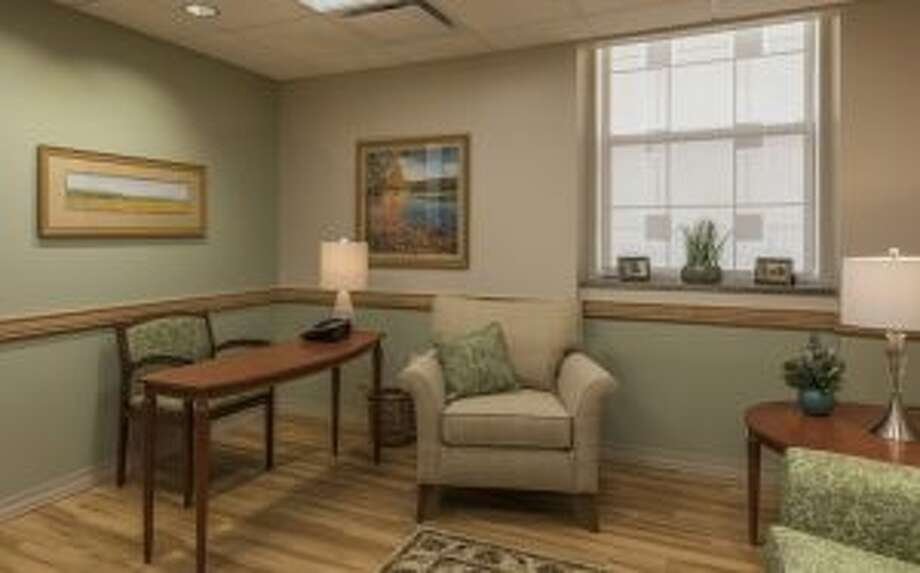 Albany Medical Center's executive suite. (provided image) Photo: Albany Medical Center