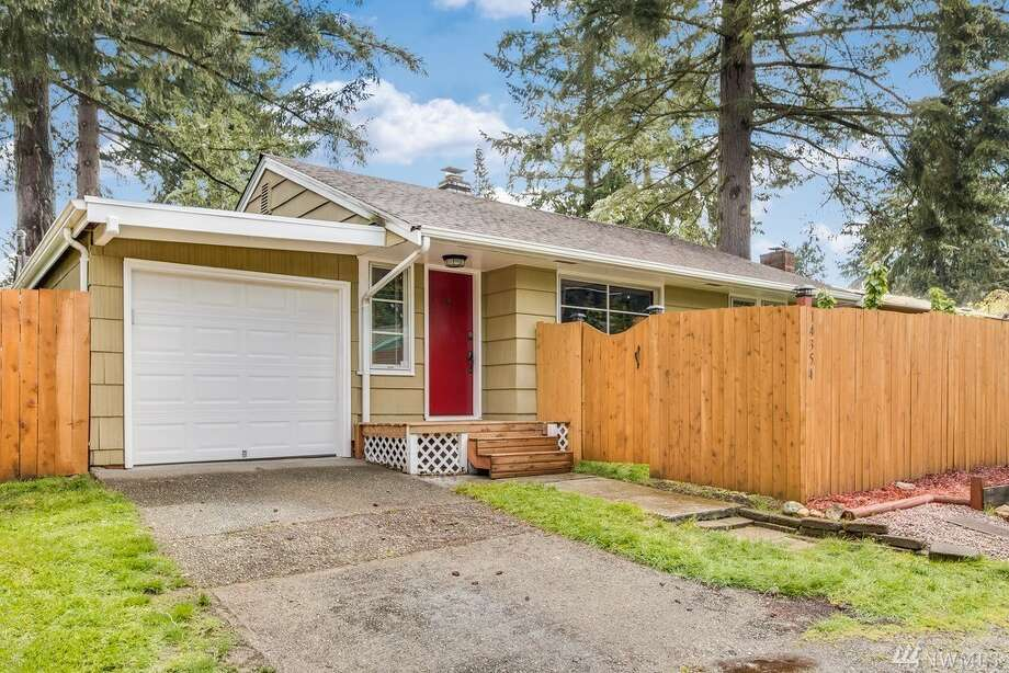 The first home, at 14354 Densmore Ave. N., is listed for $388,000. It is in Haller Lake.The two-bedroom, one-bathroom home is 760 square feet. It got all new electrical wiring in 2015.There will be a showing for this home on Saturday, May 20, and Sunday, May 21, from 1 p.m. to 4 p.m. You can see the full listing here. Photo: Listing Courtesy Jerry Koonce, Windermere R.E. Mount Baker