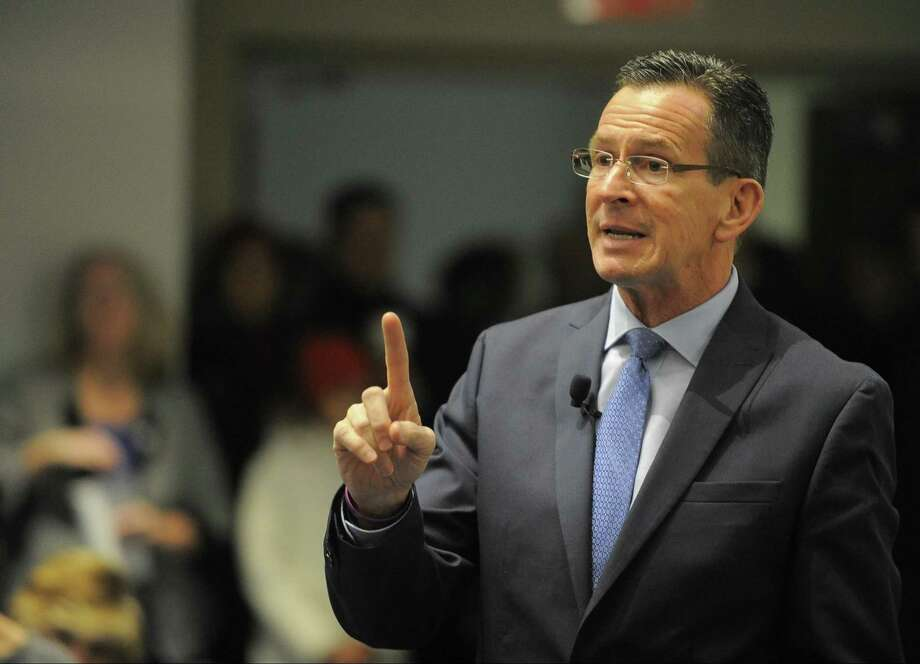 Gov. Dannel P. Malloy announced on Friday that State Farm Insurance will pay about $500,000 a year for the state's share in a $4.5-million annual roadside assistance program. Photo: Matthew Brown / Hearst Connecticut Media / Stamford Advocate