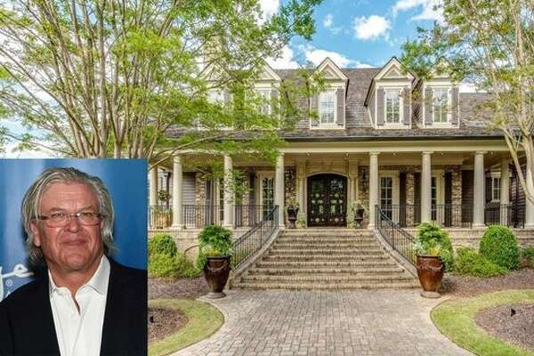 It's no joke—the Georgia home of comedian Ron White is on the market. Again. The elegant Southern estate in Suwanee has bounced on and off the market since 2009, when it was listed for $3.5 million. (Ethan Miller/Getty Images for Cirque du Soleil; realtor.com)
