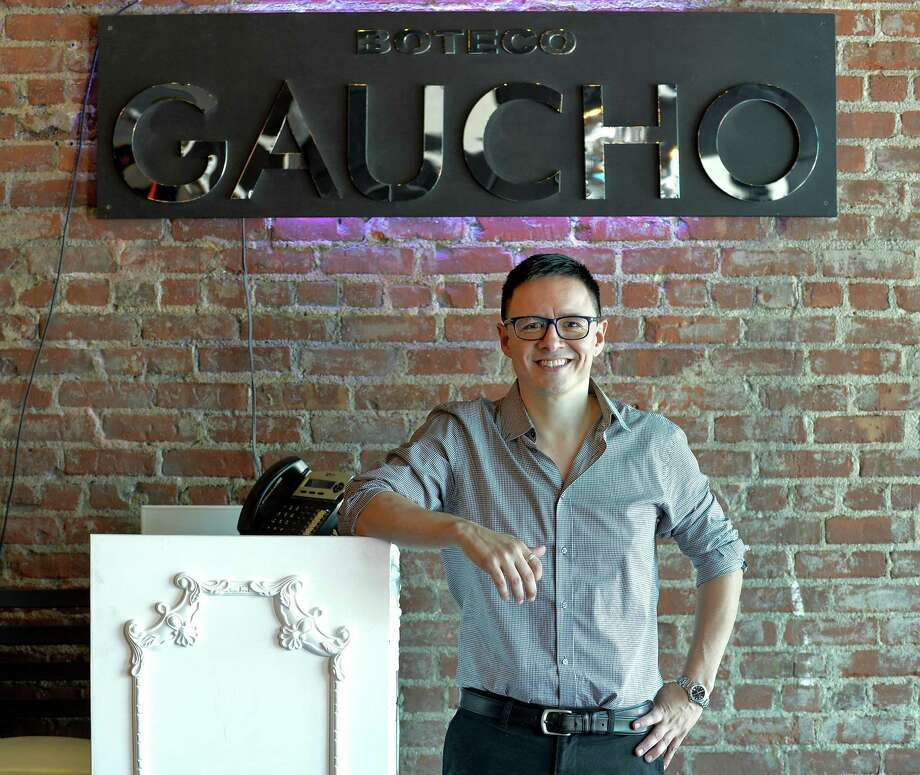 Eduardo Campos is owner of the new Gaucho Boteco restaurant in Stamford, Conn. on May 17, 2017. Photo: Matthew Brown / Hearst Connecticut Media / Stamford Advocate