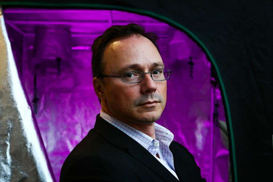 Phil Potter is chief strategy officer of Bitfinex, which recovered from a theft. Photo: Christopher Goodney, Bloomberg