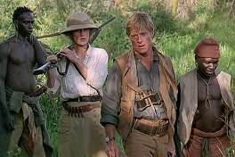 """Meryl Streep and Robert Redford in """"Out of Africa"""" (1985)."""