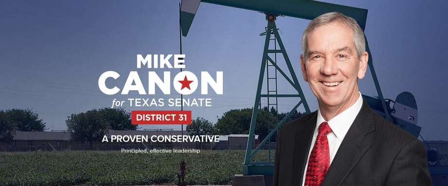 Former Midland Mayor Mike Canon has decided to again run for a seat in the Texas Senate. Photo: Mikecanonforsenate.com