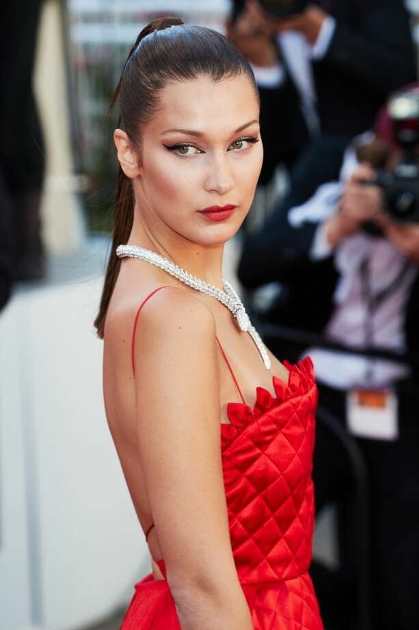 "Bella Hadid attends the ""Okja"" screening during the 70th annual Cannes Film Festival at Palais des Festivals on May 19, 2017 in Cannes, France. Photo: Epsilon/Getty Images"