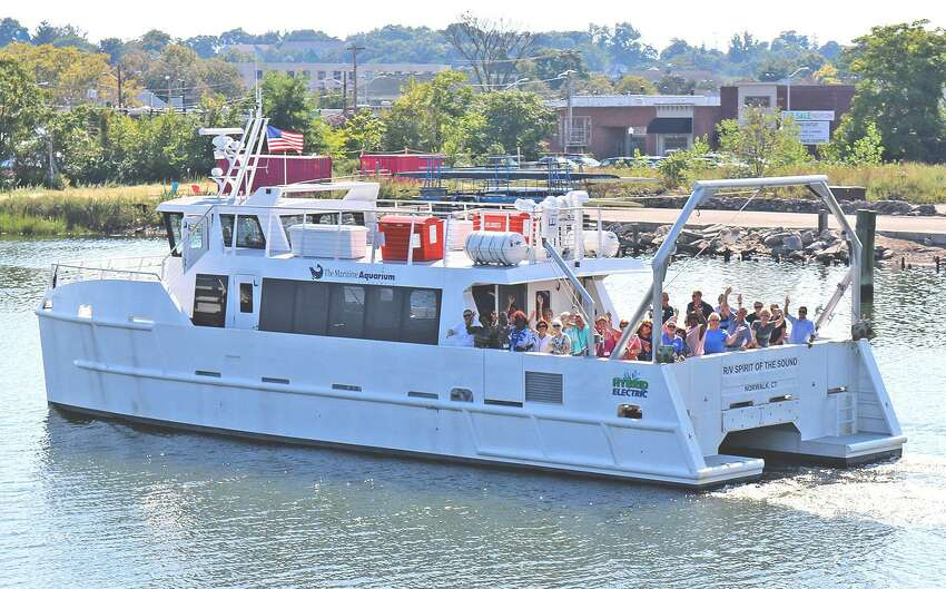 On Friday, the R/V Spirit of the Sound will head out to the Norwalk islands as part of the Maritime Aquarium at Norwalk's