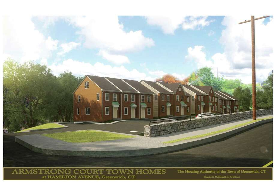 Artist's rendering of new units planned for Amrstrong Court. Photo: Contributed Photo