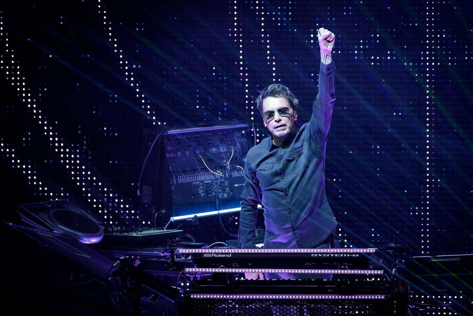 Jean-Michel Jarre has played to audiences of more than a million on multiple occasions. Photo: Angel Marchini, TNS
