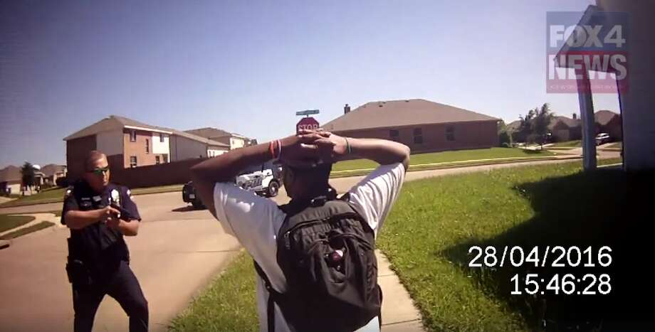 A leaked video shows a Texas police officer tasering a handcuffed man. In a separate incident, the same police officer is being charged with the murder of a 15-year-old teenager. Click through to see how often Texas police shoot at someone.
