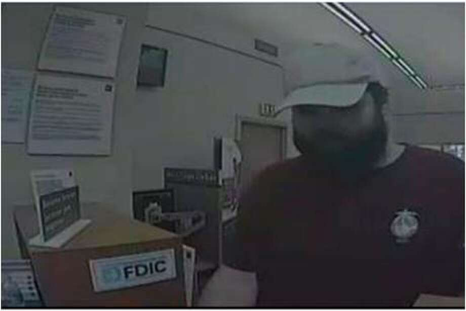This man is wanted for allegedly robbing a Wells Fargo in New Braunfels on May 19, 2017. Photo: New Braunfels Police Department