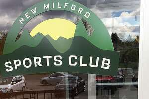 A sign reading that the facility is closed greets customers at the New Milford Sports Club in New Milford, Conn., on Tuesday, May 9, 2017.
