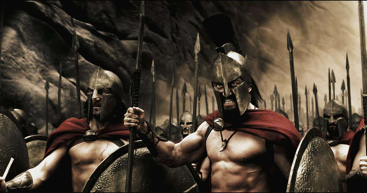 300 (2006) Available on Netflix Sept. 1 King Leonidas of Sparta and a force of 300 men fight the Persians at Thermopylae in 480 B.C.