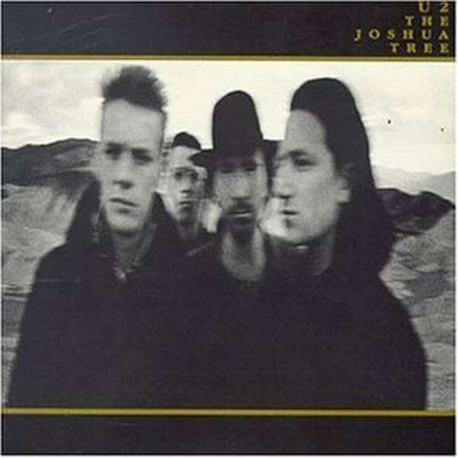 CD Cover of U2 album The Joshua Tree  VERY SMALL IMAGE SIZE. / Handout email