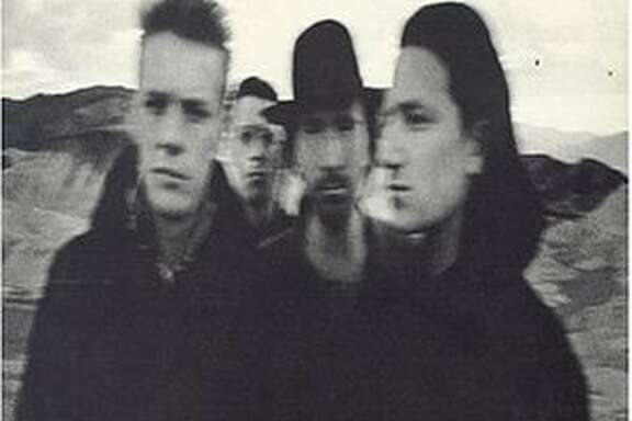 CD Cover of U2 album The Joshua Tree  VERY SMALL IMAGE SIZE.