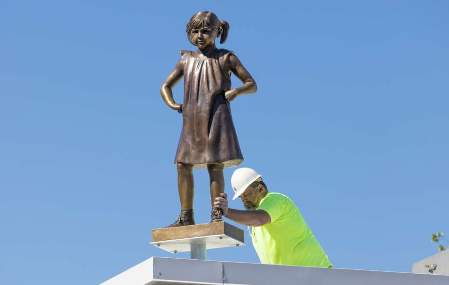 The Persist statue at the California Democratic Party headquarters in Sacramento. Photo: Photograph By Robert Durell/Courtesy Of The California Democratic Party