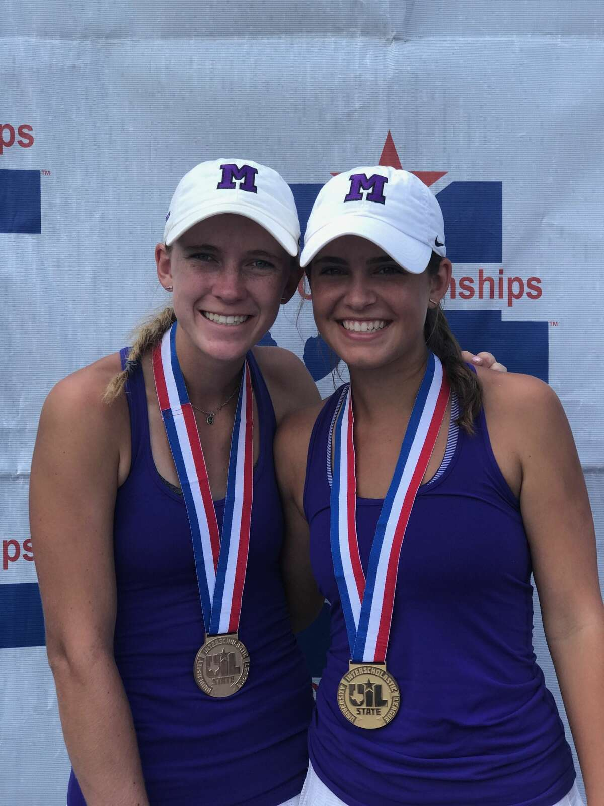 3. MHS' STEWART-DAUGHERTY GO 45-0, WIN STATE DOUBLES TITLE Midland High senior Kate Daugherty and junior Allison Stewart capped the 2016-17 season with an unblemished 45-0 record, while becoming the first MHS girls doubles team to win state since Terre Cowden and Susan Stolz in 1972.