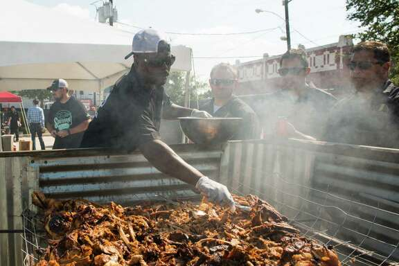 Pitmaster Rodney Scott at 2015 Southern Smoke. Scott, of Scott's Bar-B-Que in Hemingway, SC, will participate in the 2017 event.