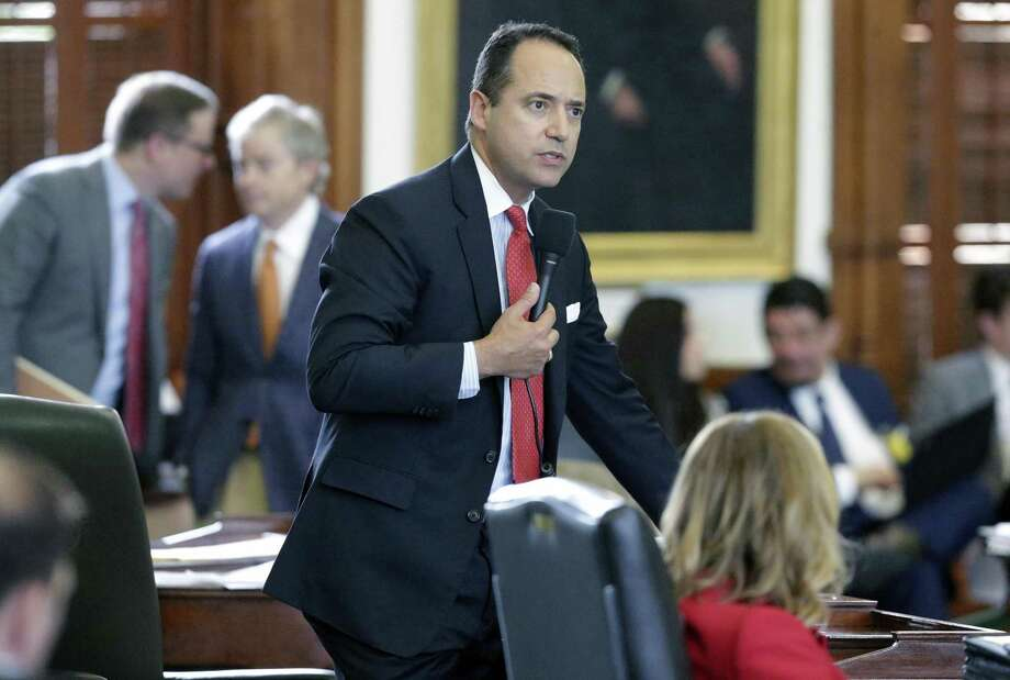 Gov. Greg Abbott has signed a number of education-related bills pushed by Sen. Jose Menendez, a San Antonio Democrat pictured here during floor debate last month. Several other measures favored by local educators also made it to Abbott's desk but have yet to be signed, and the governor's office has not said what his position is on them. Photo: Tom Reel /San Antonio Express-News / 2017 SAN ANTONIO EXPRESS-NEWS