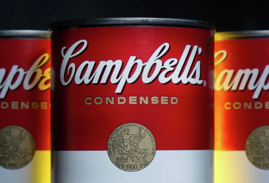 FILE - In this Jan. 8, 2014, file photo, cans of Campbell's soup are photographed in Washington. Campbell Soup Co. reports earnings, Friday, May 19, 2017. (AP Photo/J. David Ake, File) ORG XMIT: NYBZ552 Photo: J. David Ake / Copyright 2016 The Associated Press. All rights reserved.