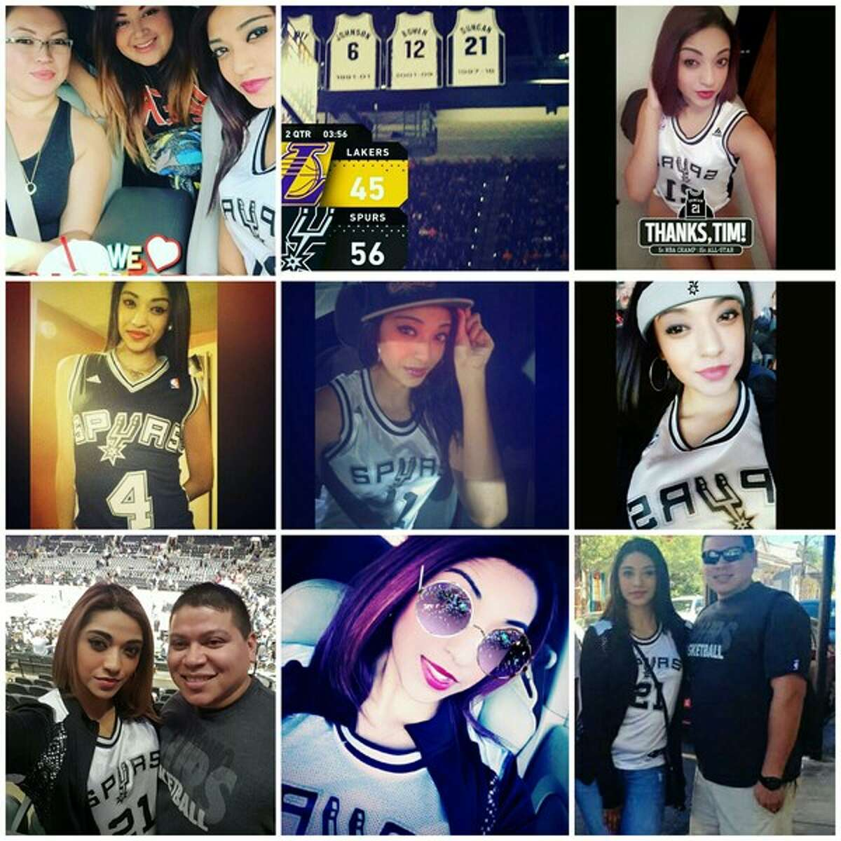 Think you are the top Spurs fan around? Enter our contest like these super Spurs fans and find out.