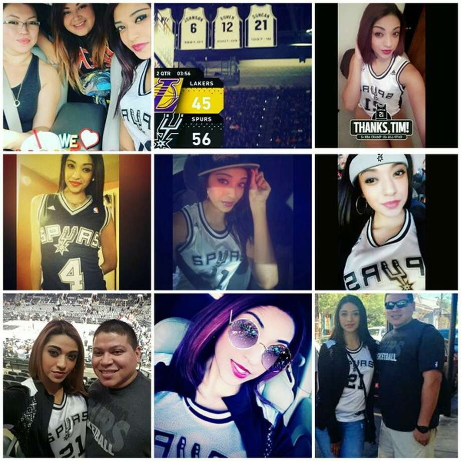 Think you are the top Spurs fan around? Enter our contest like these super Spurs fans and find out. Photo: Courtesy