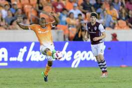 Ricardo Clark, left, and the Dynamo hope to gain control of their fate on the road after losing all four matches his season away from BBVA Compass Stadium.
