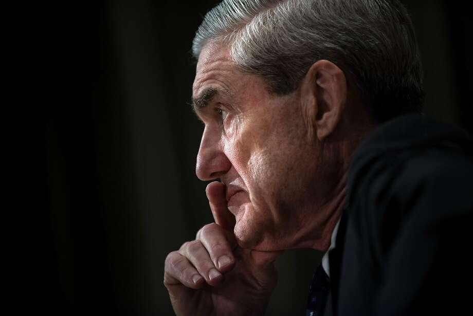 Then-FBI Director Robert Mueller in 2013. Photo: BRENDAN SMIALOWSKI, AFP/Getty Images