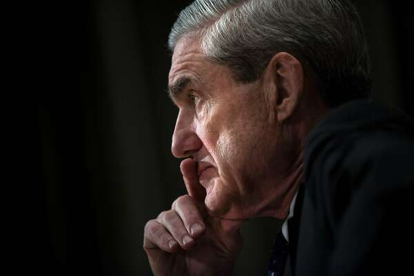 (FILES) This file photo taken on May 16, 2013 shows  Federal Bureau of Investigation(FBI) Director Robert Mueller testifying during a hearing of the US Senate Appropriations Committee on Capitol Hill in Washington, DC.  Deputy Attorney General Rod Rosenstein on May 17, 2017, named Mueller as special counsel to lead the probe into alleged Russian meddling and possible collusion with US President Donald Trump's team, as the president stands accused of seeking to stall the investigation.  / AFP PHOTO / BRENDAN SMIALOWSKIBRENDAN SMIALOWSKI/AFP/Getty Images