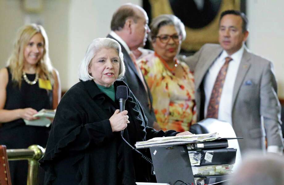 Sen. Judith Zaffirini, D-Laredo, was a driving force in passing Texas' ban on texting while driving. Photo: Tom Reel, Staff / 2017 SAN ANTONIO EXPRESS-NEWS