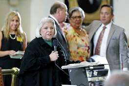 Sen. Judith Zaffirini, D-Laredo, is a driving force in the bill that would ban texting while driving.