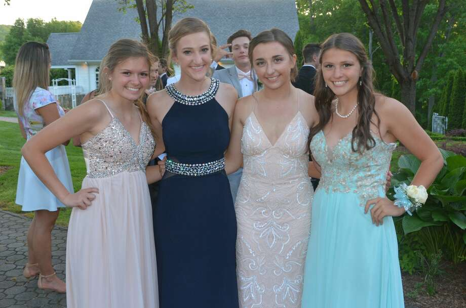 Milford's Jonathan Law High School held its prom at Villa Bianca in Seymour on May 19, 2017. Were you SEEN at the prom? Photo: Vic Eng / Hearst Connecticut Media Group