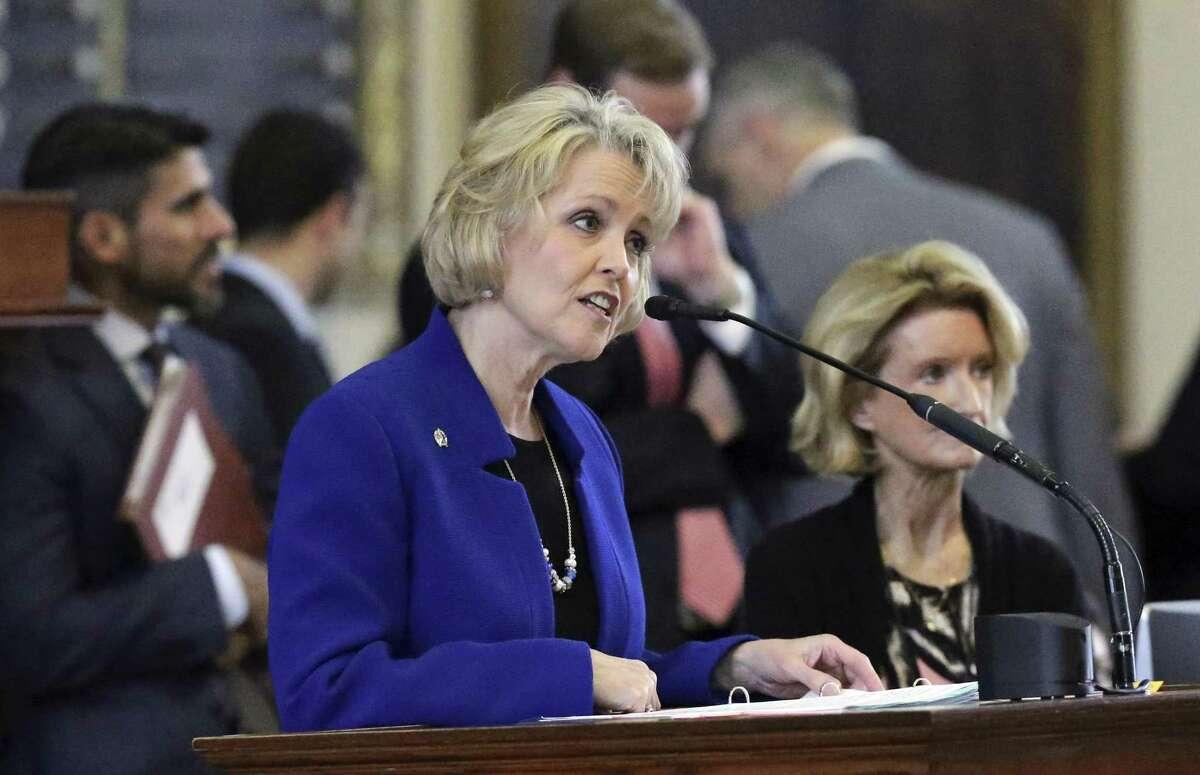 State Rep. Cindy Burkett, R-Sunnyvale, is running against State Sen. Bob Hall, R-Edgewood, in 2018.