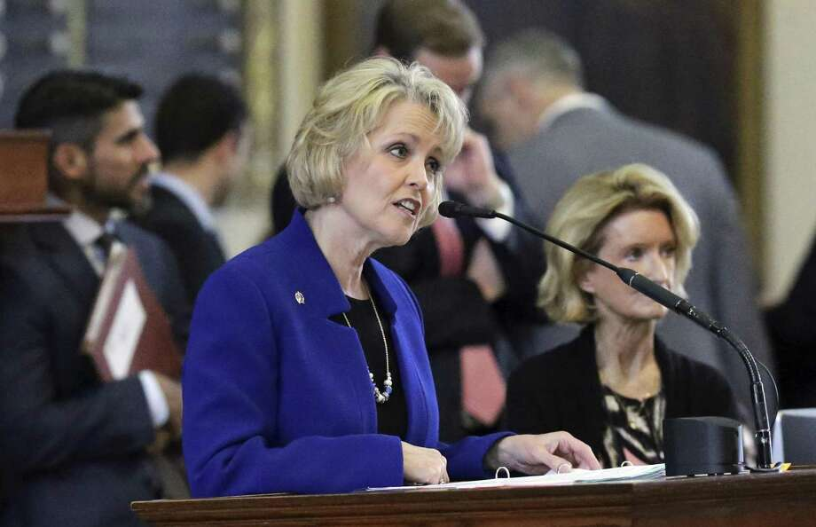 Rep. Cindy Burkett, the Republican from Sunnyvale, sponsored