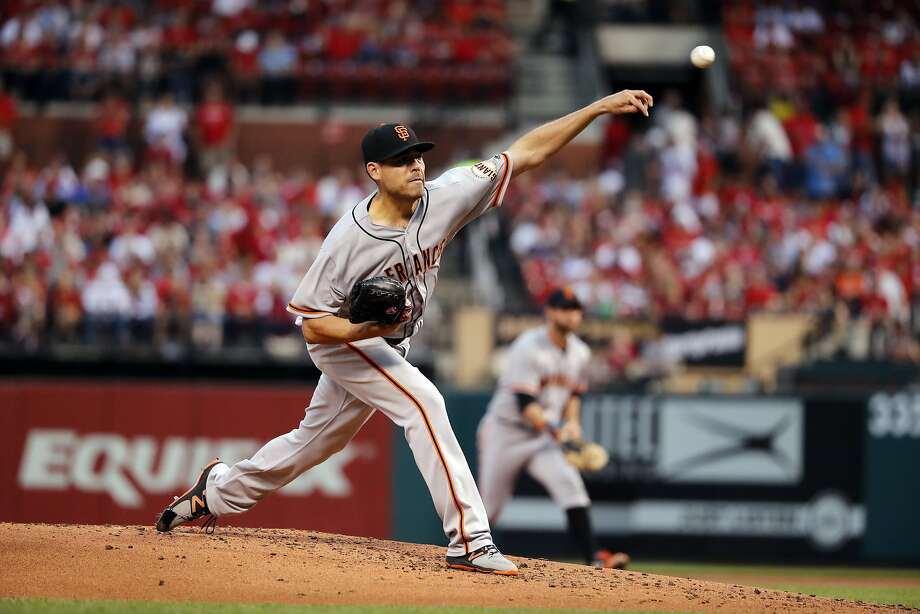 San Francisco Giants starting pitcher Matt Moore could be attractive to a contender. Photo: Jeff Roberson, Associated Press