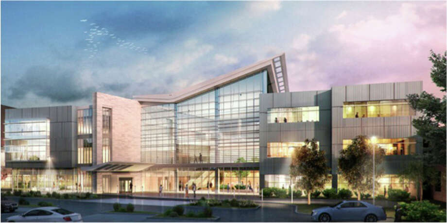 This rendering shows MidMichigan Health's proposed $57 million cardiovascular center.