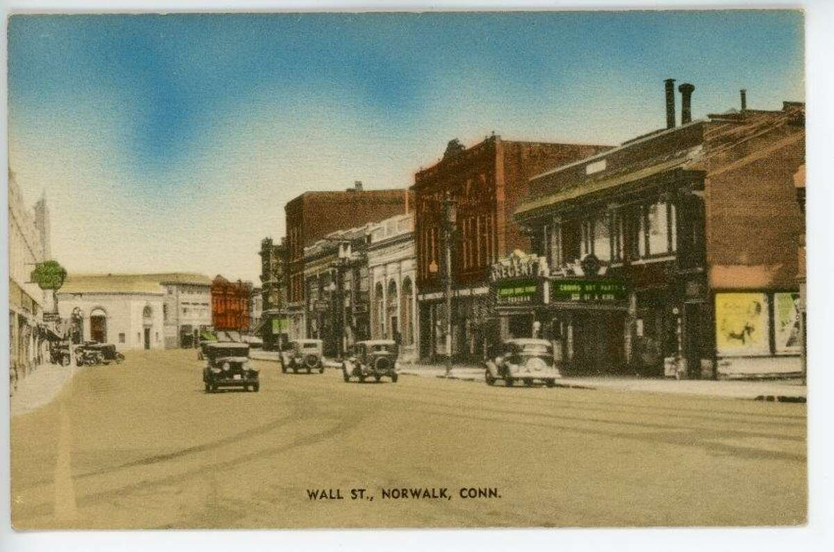 The Wall Street Theater in Norwalk through the years.