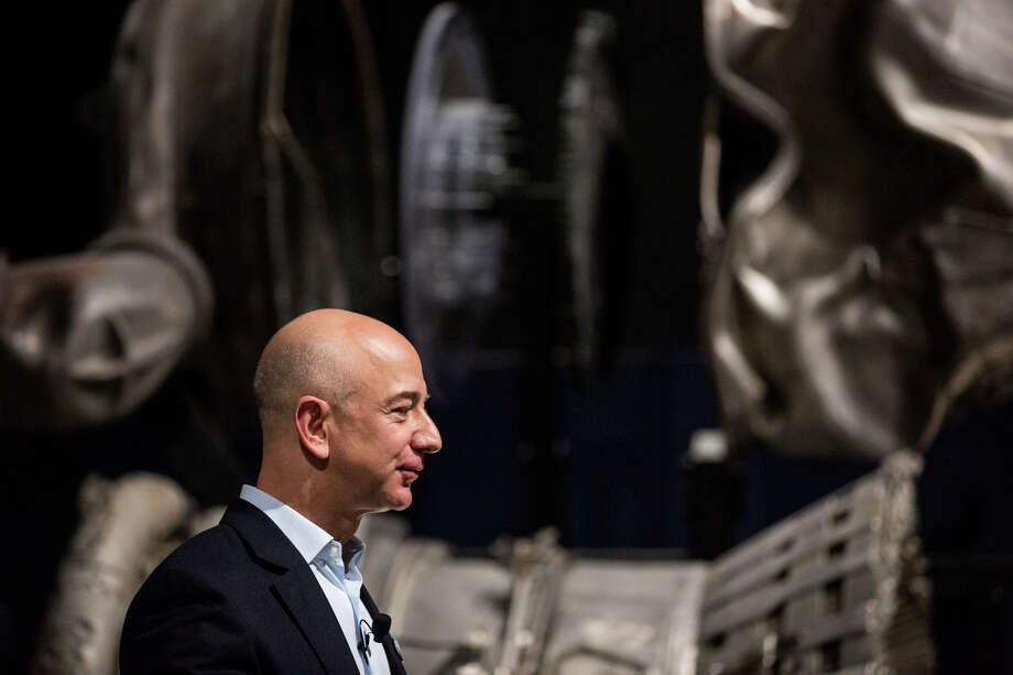 """Amazon CEO Jeff Bezos is one of 300 business leaders urging President Trump not to end the Obama program that shields young undocumented immigrants, who have lived their lives in America, from deportation and allows them to live, work and study in the U.S. """"Dreamers are vital to the future of our companies and our economy. They are part of why we will continue to have a global competitive advantage.""""  Photo: GRANT HINDSLEY, SEATTLEPI.COM / SEATTLEPI.COM"""