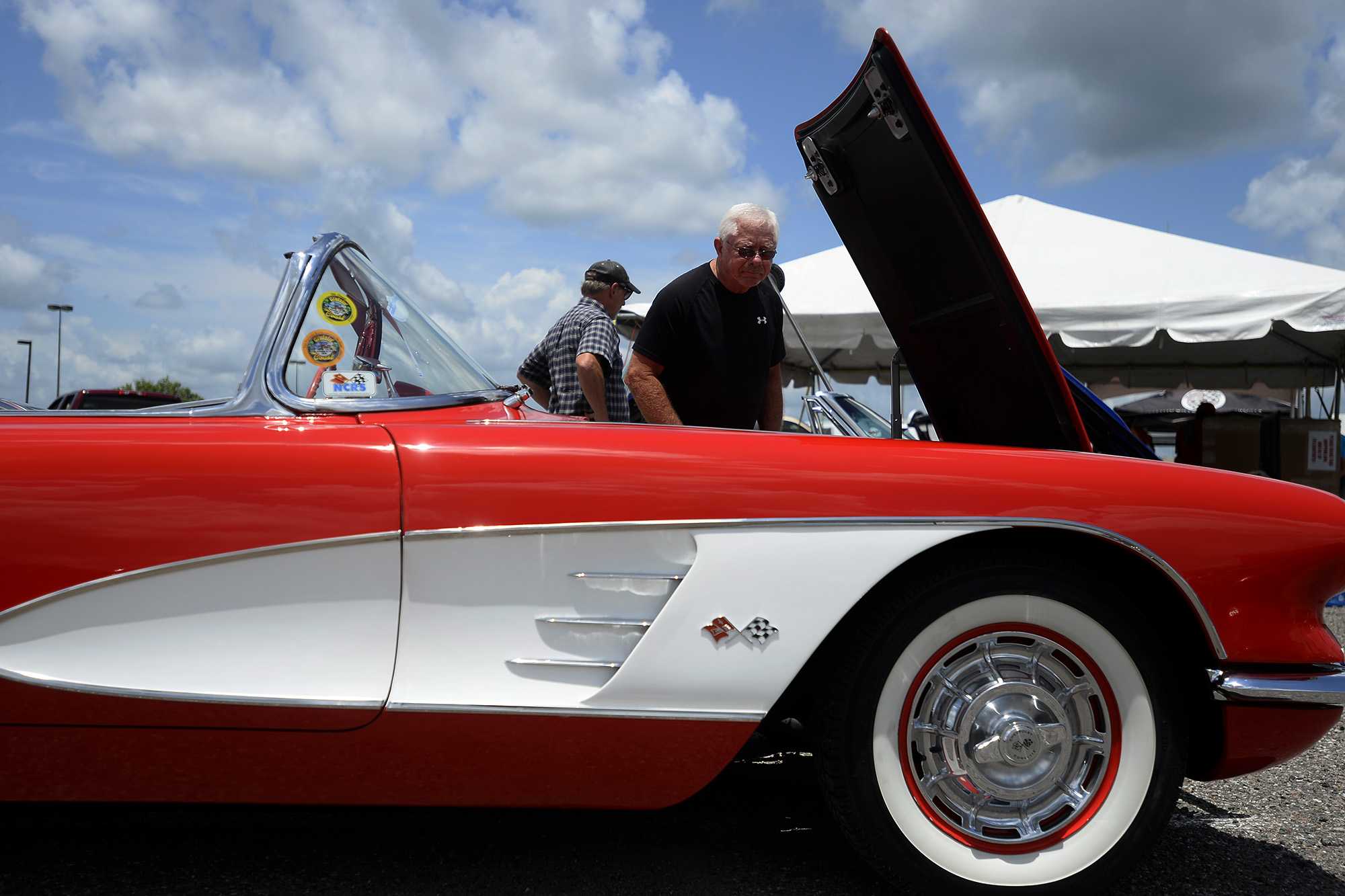 s Colorful Corvettes on display at car show Beaumont Enterprise