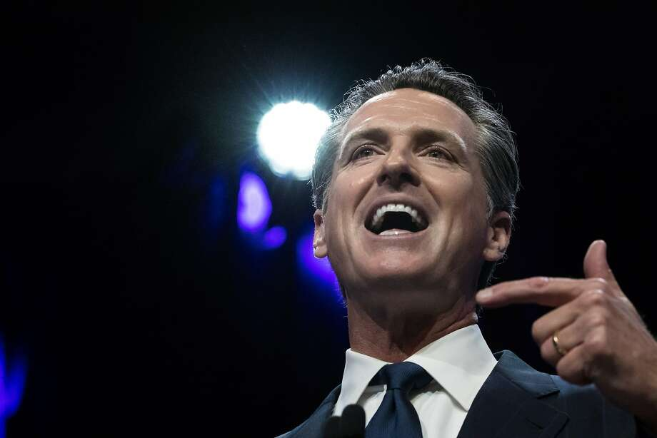 Lt. Gov. Gavin Newsom is on the right side of the issue. Photo: Paul Kuroda, Special To The Chronicle