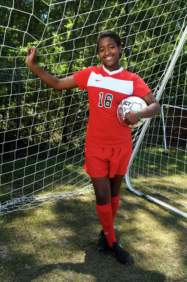 Jazzy Richards, 16, a senior at The Woodlands High School, was picked as the All-Greater Houston Girls Soccer Player of the Year. (Photo by Jerry Baker/Freelance) Photo: Jerry Baker, Freelance / Freelance