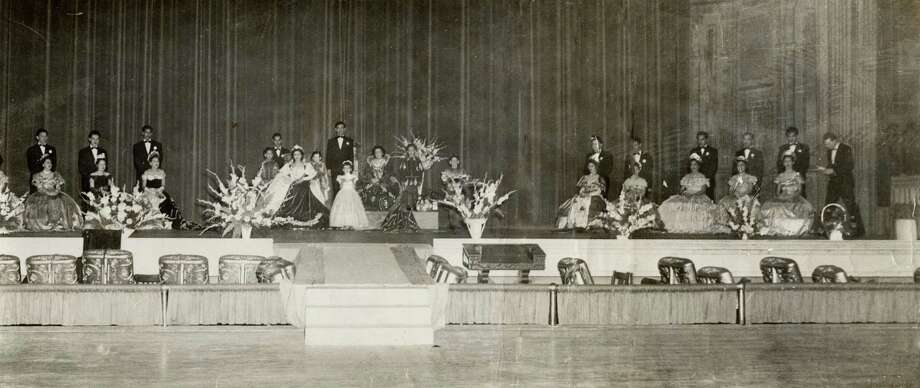 A San Antonio coronation event in the late 1940's. Photo: Courtesy Of Victoria De La Garza