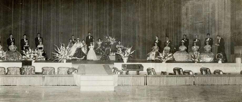 A San Antonio coronation event in the late 1940's. Photo: Courtesy Of Victoria De La Garza