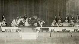 A San Antonio coronation event in the late 1940's.